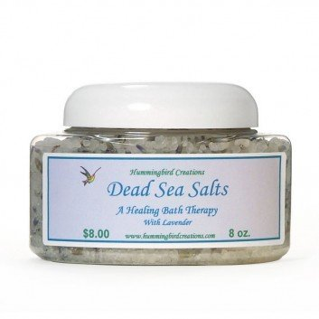 Dead Sea Bath Salts with Lavender