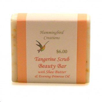 Tangerine scrub beauty bar