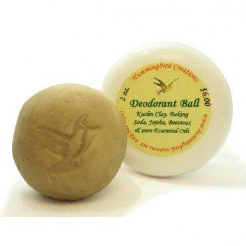 Aluminum-free Deodorant Ball