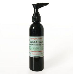 Hand & Body Healing Aromatherapy Lotion