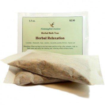 Herbal Bath Teas