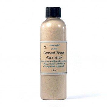 Oatmeal Fennel Facial Scrub