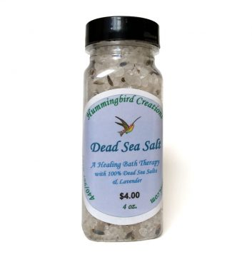 Dead Sea Bath Salts 5oz