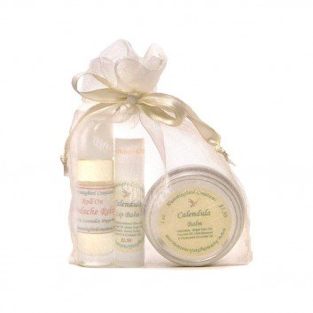 Gift Bag with Natural Herbal Products
