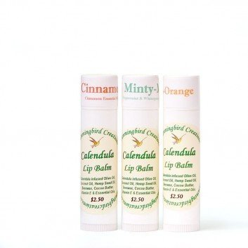 Calendula Lip Balm sticks