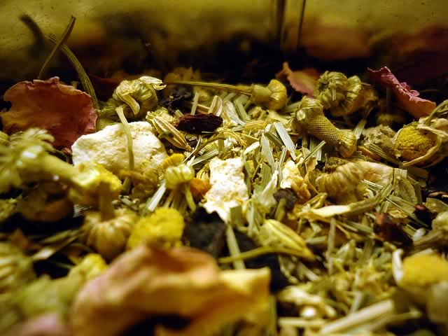 herbal tea - photo credit Brandon Giesbrecht, https://www.flickr.com/photos/naturegeak/6120665723/in/photostream/