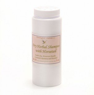 Dry herbal shampoo