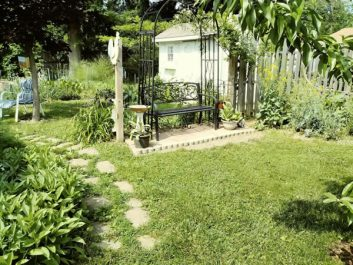 Hummingbird Creations garden