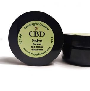 CBD Salve from Hummingbird Creations
